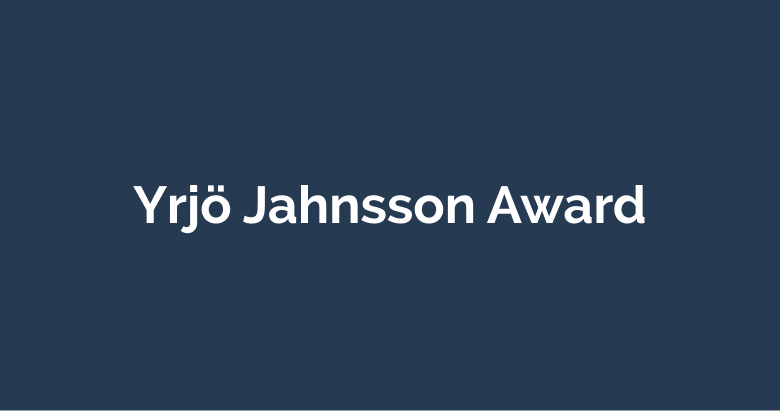 Yrjö Jahnsson Award